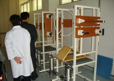 2007.05 김만유병원에 지원한 재활장비(종합운동기)