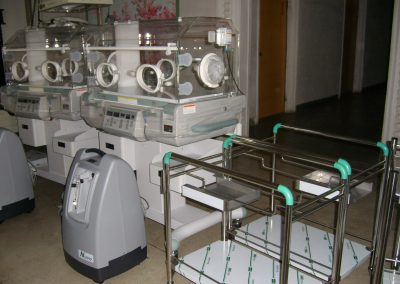 2007.05.21 회령산원에 도착한 모금회 지원 의료장비-2