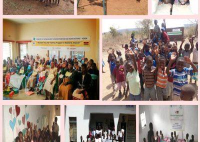 2010.01- 말라위 Blantyre 지역 말라리아 퇴치 및 보건의료 개선 사업-말위 농촌 유아교육 지원사업