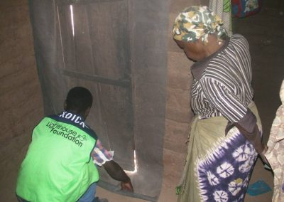 2017.10.31 말라리아 예방을 위한 스크린 모기장(SMnet) 설치현장-2