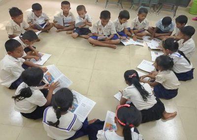 2019.09. 캄보디아 미취학 아동 학습지도