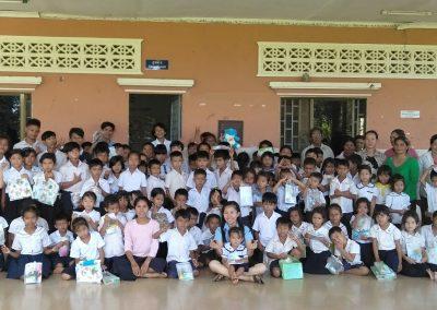 2019.07. 캄보디아 복끄롤란 유치원 아동들