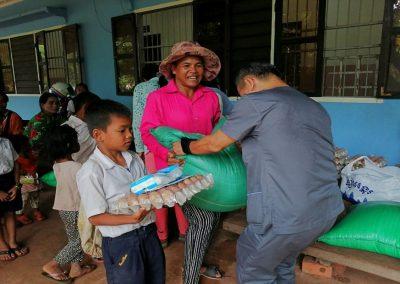 2019.09. 캄보디아 빈곤아동 급식재료 지원