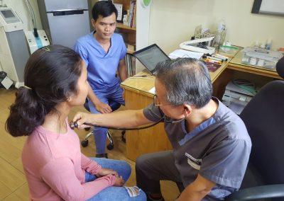 2019.09. 캄보디아 빈곤아동 무료진료 서비스