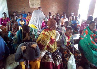 2020.07 보건소 기저질환자, 극빈환자 가정 식량 지원