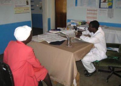 단체 보건소 환자 진료 2011.08