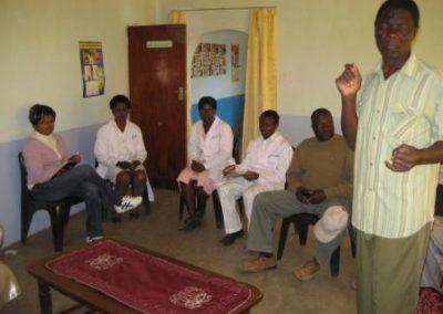 마을관계자들과 의료진 간담회 2020.06