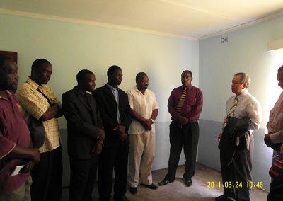 개소식전 지도자와 만남 2011.03