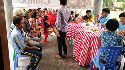 씨엠립 지역 의료봉사 활동 2016.07