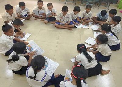 캄보디아 미취학 아동 학습지도 2019.09