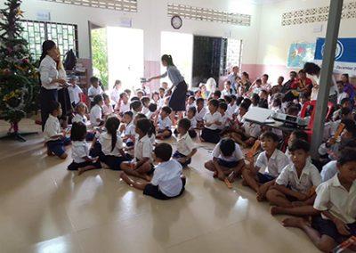 캄보디아 보건교육2017
