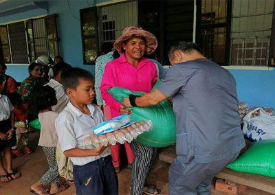 캄보디아 빈곤아동 급식재료 지원 2019.09