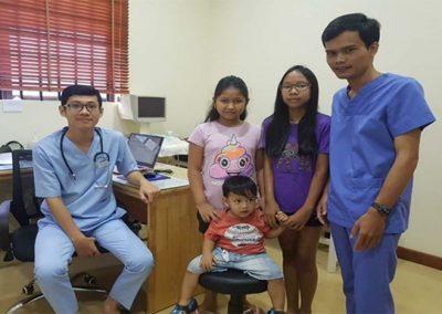 캄보디아 빈곤아동 무료진료 서비스 2019.10