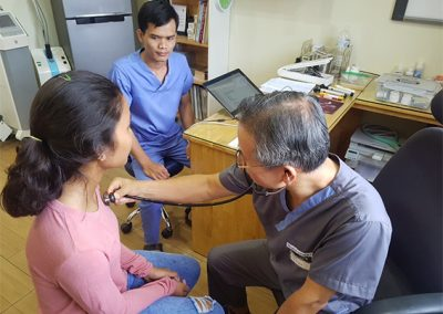 캄보디아 빈곤아동 무료진료 서비스 2019.9