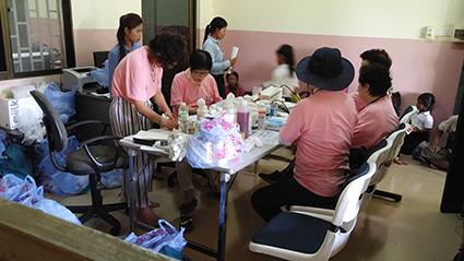 캄보디아 의료봉사에 참여한 한국 의료진 2016.07