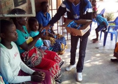 2020.06 보건소 환자, 코로나 예방을 위한 위생용품(비누)지원