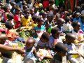 말라위 농촌 유치원 아동, 환자들을 위한 식량 지원