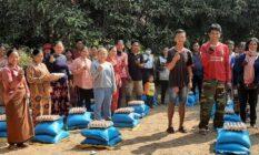 캄보디아 코로나19 피해계층 식량 지원